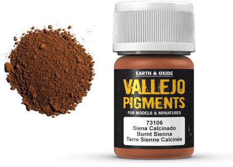 Vallejo Pigment: Burnt Sienna (73.106)