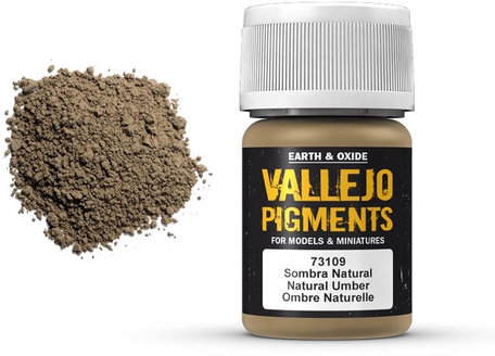 Vallejo Pigment: Natural Umber (73.109)
