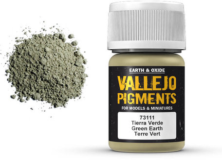 Vallejo Pigment: Green Earth (73.111)