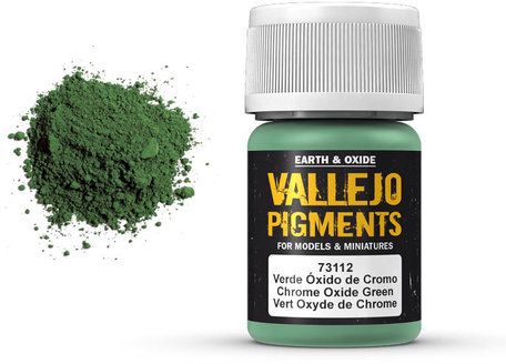 Vallejo Pigment: Chrome Oxide Green (73.112)