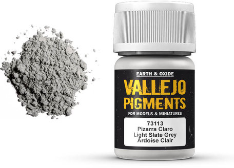 Vallejo Pigment: Light Slate Grey (73.113)