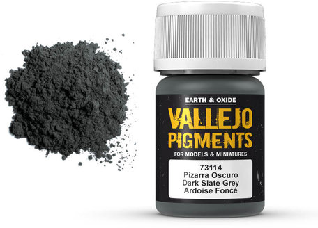 Vallejo Pigment: Dark Slate Grey (73.114)