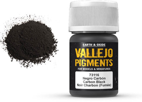 Vallejo Pigment: Carbon Black (73.116)