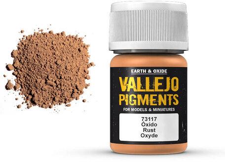 Vallejo Pigment: Rust (73.117)