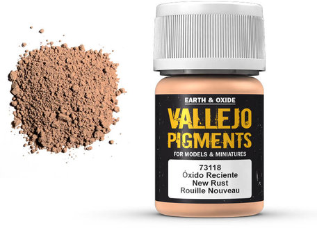Vallejo Pigment: Fresh Rust (73.118)