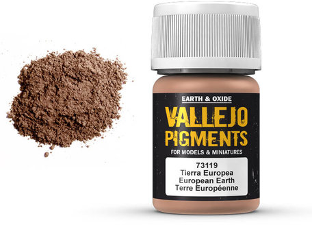 Vallejo Pigment: European Earth (73.119)