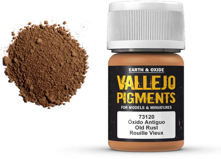 Vallejo Pigment: Old Rust (73.120)