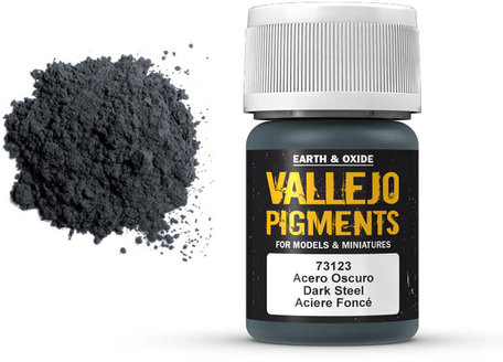 Vallejo Pigment: Dark Steel (73.123)