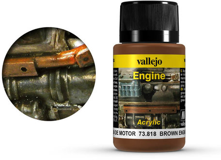 Vallejo Brown Engine Soot (73.818)