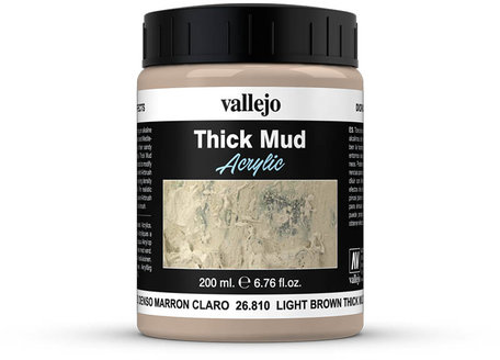 Vallejo Diorama: Light Brown Thick Mud (26.810)