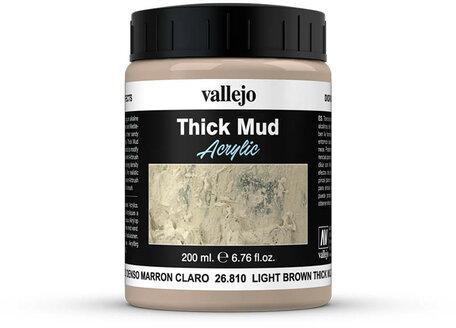 Vallejo Diorama: Light Brown Thick Mud (26.810)