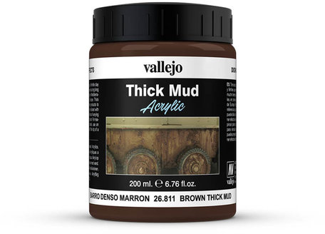 Vallejo Diorama: Brown Thick Mud (26.811)