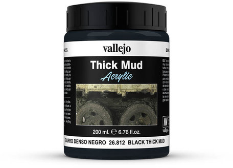 Vallejo Diorama: Black Thick Mud (26.812)