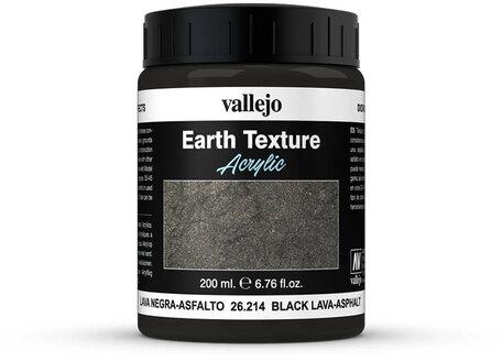 Vallejo Diorama: Black Lava-Asphalt (26.214)