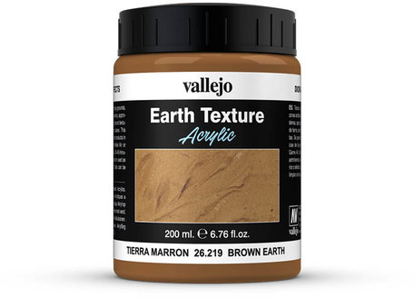 Vallejo Diorama: Brown Earth Texture (26.219)