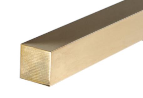 Albion Alloys Messing Vierkant Massief 1.5 mm