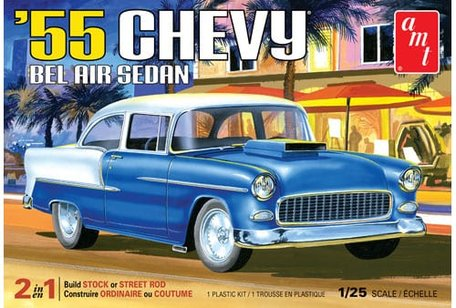 AMT '55 Chevy Bel Air Sedan 1:25