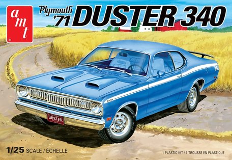 AMT '71 Plymouth Duster 340 1:25