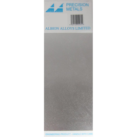 Albion Alloys Aluminium Plaat 1.00 x 100 x 250 mm