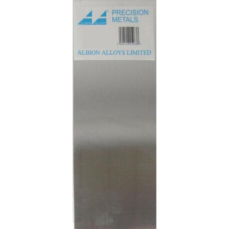 Albion Alloys Tin Plaat 0.50 x 100 x 250 mm