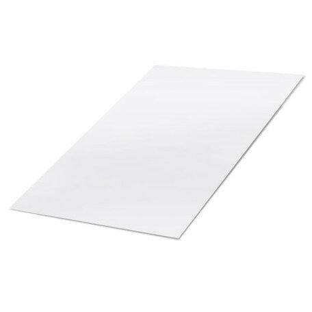 Kunststof Plaat: 250 x 500 x 2.0 mm