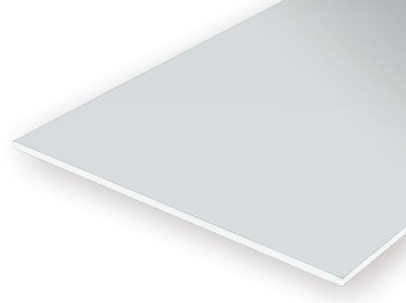 Evergreen 9005: Vlak Clear 0.13 mm