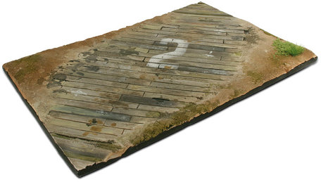 Vallejo Diorama Base: Wooden Airfield Surface