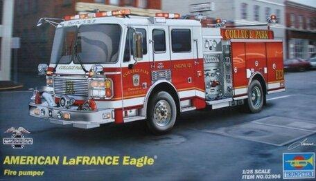 Trumpeter American LaFrance Eagle Fire Pumper 1:25
