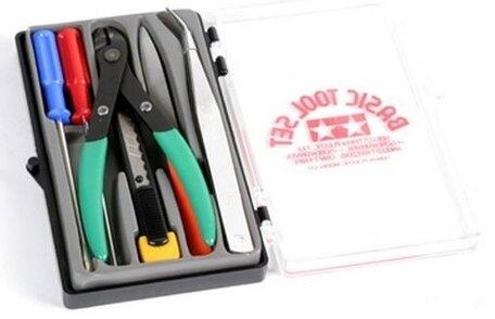 Gereedschap Set - Basic Tools (Tamiya)