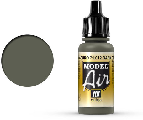 012. Vallejo Model Air: Dark Green (71.012)