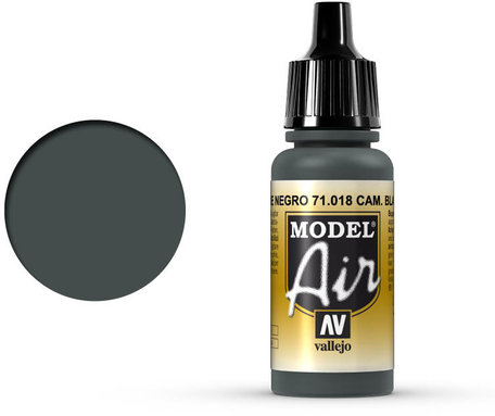 018. Vallejo Model Air: Camo Black Green (71.018)