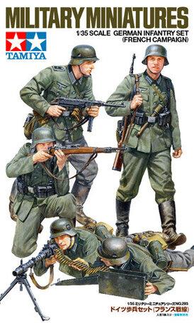 Tamiya German Infantry Set 1:35
