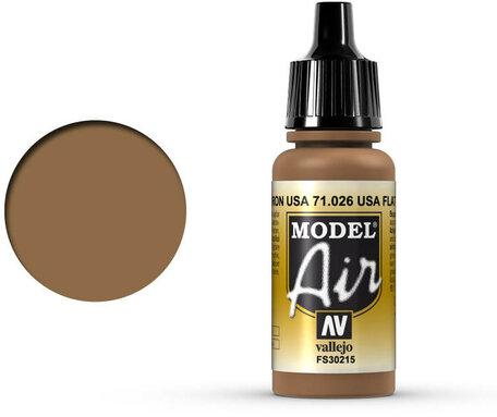 026. Vallejo Model Air: US Flat Brown (71.026)