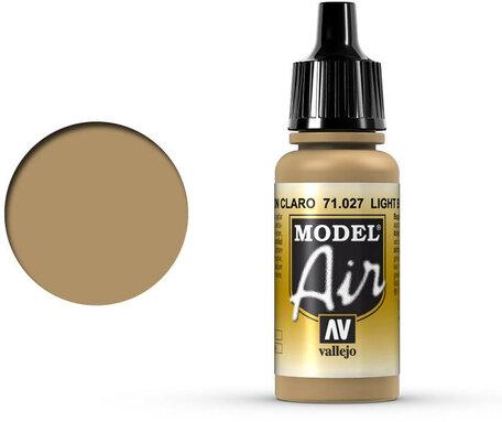 027. Vallejo Model Air: Light Brown (71.027)