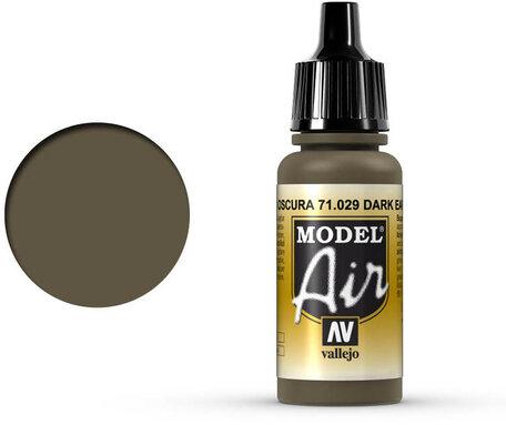 029. Vallejo Model Air: Dark Earth (71.029)