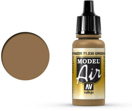 030. Vallejo Model Air: Green Brown (71.030)