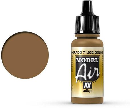 032. Vallejo Model Air: Golden Brown (71.032)