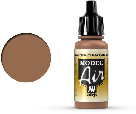 034. Vallejo Model Air: Sand Brown (71.034)
