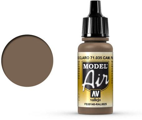 035. Vallejo Model Air: Camo Pale Brown (71.035)