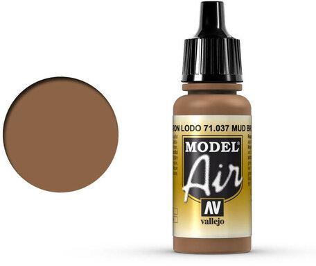 037. Vallejo Model Air: Mud Brown (71.037)