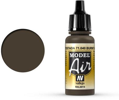 040. Vallejo Model Air: Burnt Umber (71.040)