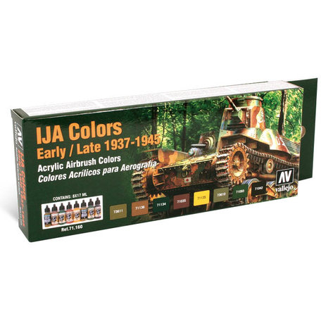 Vallejo 71.160 IJA Colors Early / Late 1937-1945 Paintset