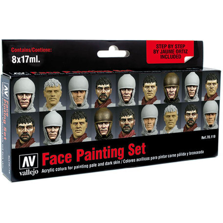 Vallejo Paint Set: Face Painting (70.119)