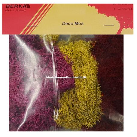 Berka Mos: Geel, Paars & Rood