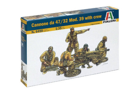 Italeri Cannone da 47 / 32 Mod. 39 with Crew 1:35