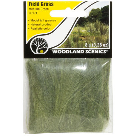 Woodland Field Grass: Medium Green