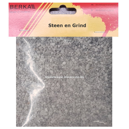 Berka Grind: Grijs - Medium