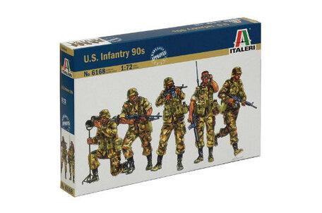 Italeri U.S. Infantry 90s 1:72