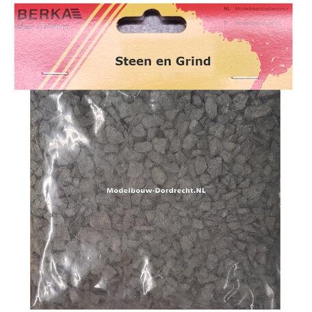 Berka Grind: Donker Grijs - Grof