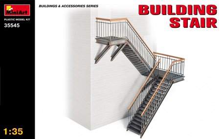MiniArt Building Stair 1:35